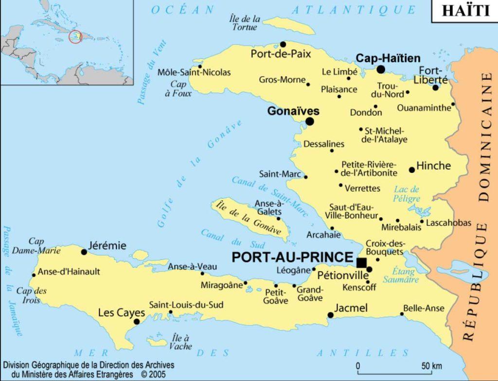 Carte Haiti Complete - Business Index