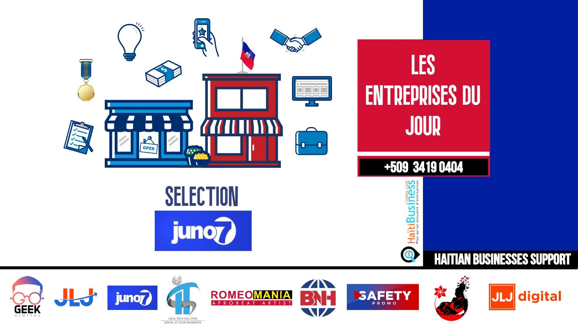 Haiti Pharma S.A - Choix Juno7 du 11 Aout 2020