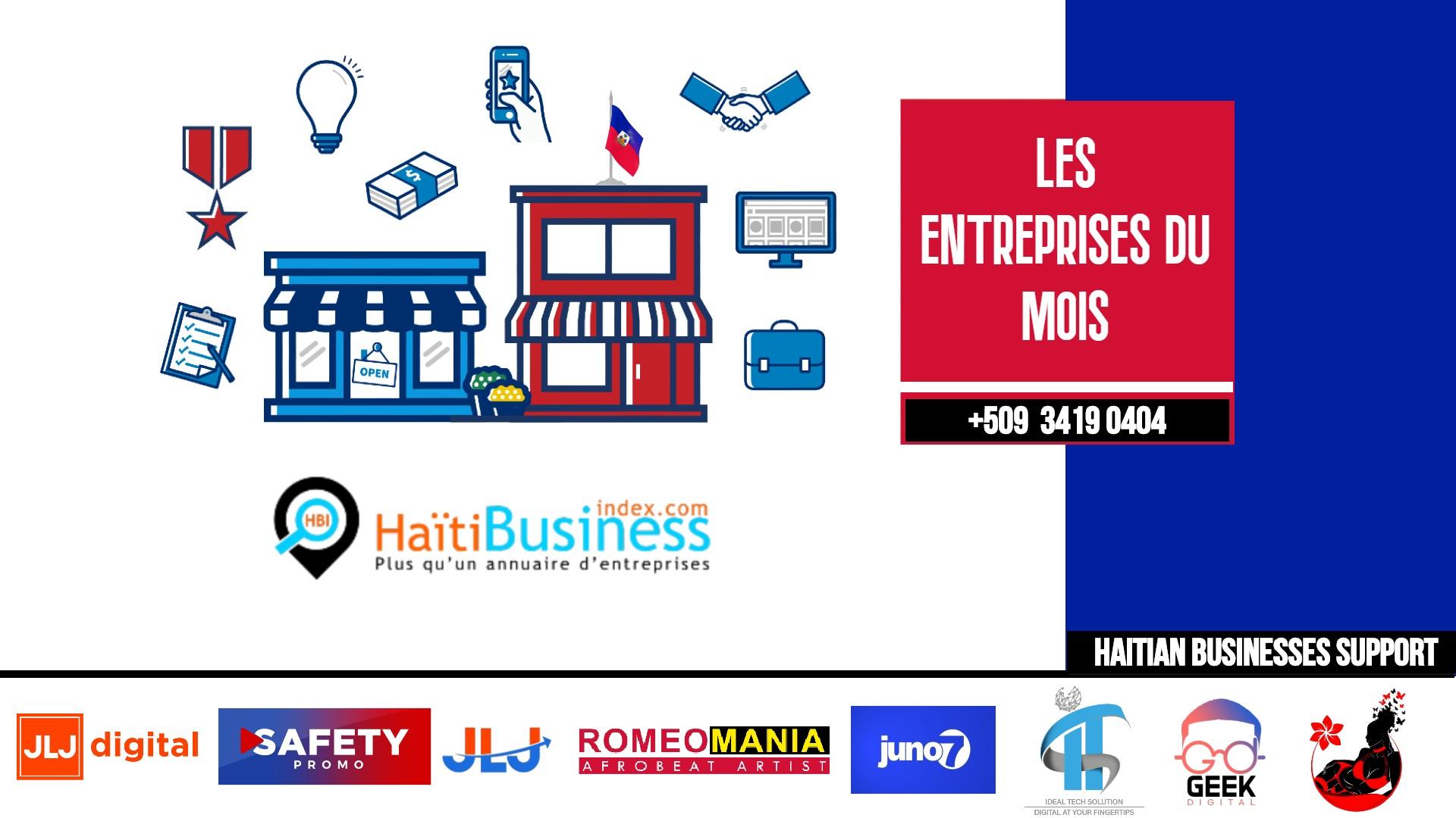 Les Entreprises du Mois - Haïti Business Index (HBIS)